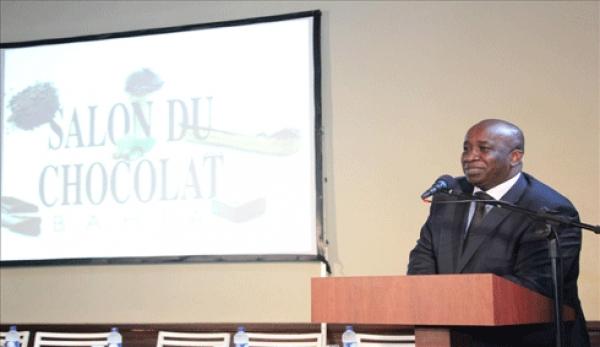 Ally Touru00e9, repru00e9sentant permanent  de la Cu00f4te d'Ivoire aupru00e8s des Organisations internationales des produits de base