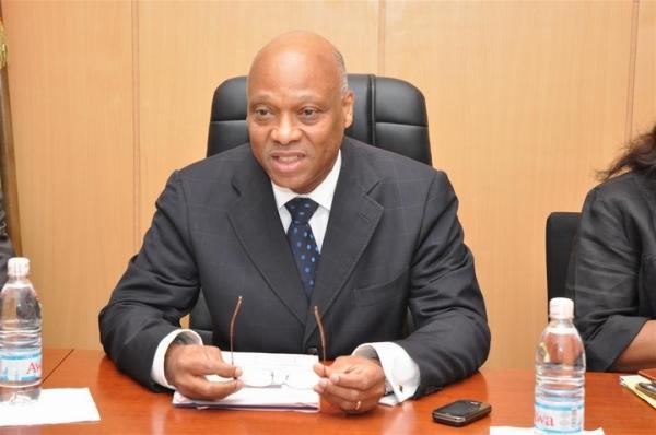 Le ministre ivoirien de lu2019Industrie et des Mines, Jean-Claude Brou.