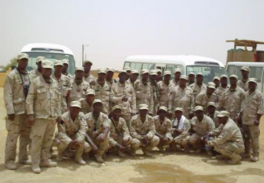 Un contingent ivoirien du00e9ployu00e9 au Mali
