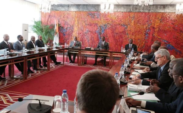 Le conseil pru00e9sidentiel tenu ce vendredi 16 janvier 2015
