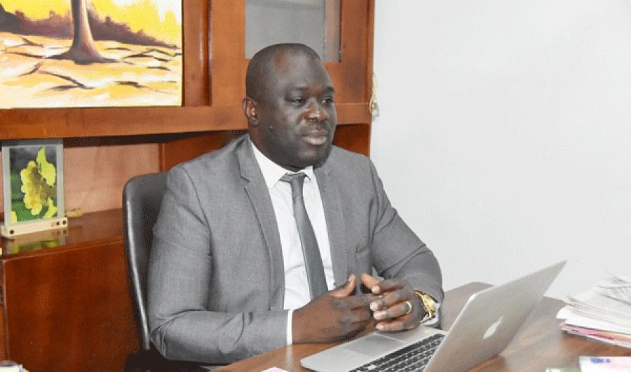 Le directeur de la communication du District, Nicolas Baba Coulibaly.