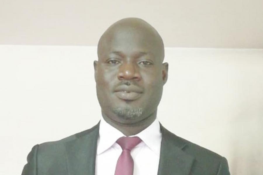 Coulibaly Doyu00e9ru00e9, pru00e9sident de l'Ong Horizon Plus.