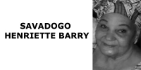 SAVADOGO HENRIETTE BARRY