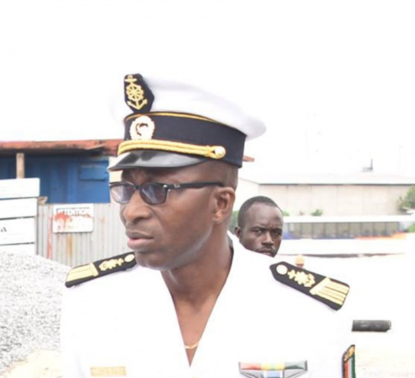 Marine nationale : Décès de l'officier d'administration en chef, Mory DJENE