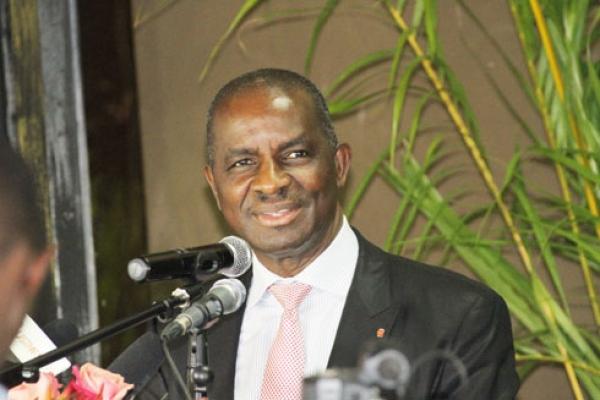 Jean Kakou Diagou, pru00e9sident de CGECI