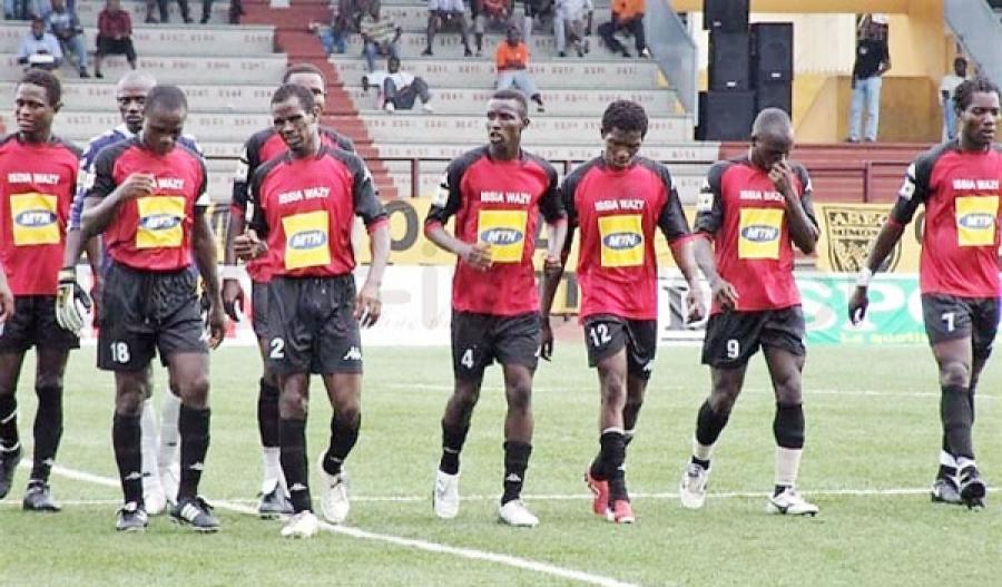 Des joueurs d'Issia Wazy.