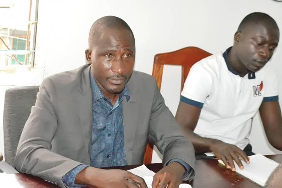 Les membres et sympathisants du Synaadci se sont mobilisu00e9s au cours de la rencontre statutaire.