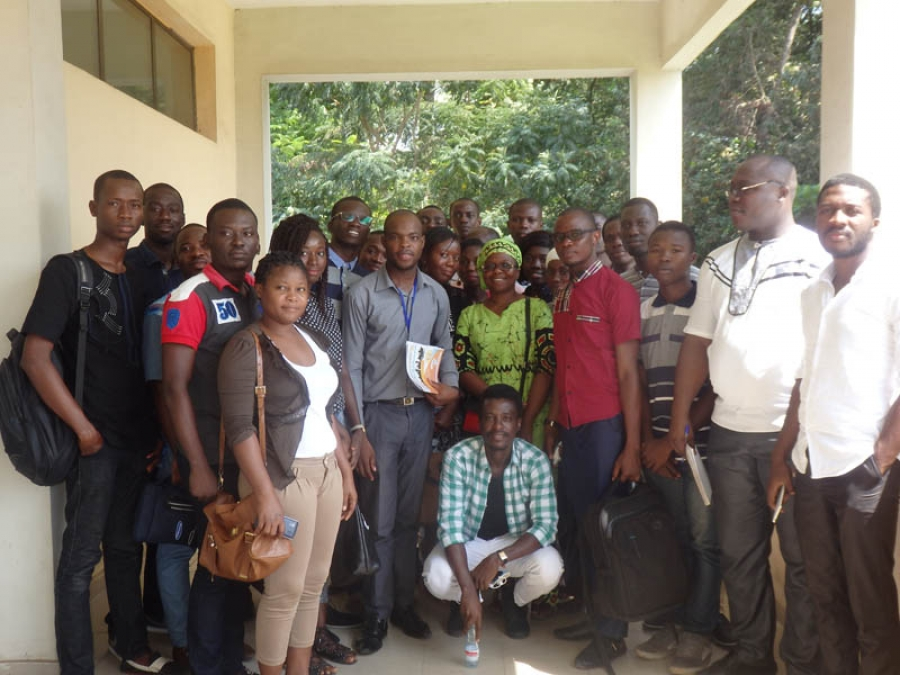 Les particpants u00e0 l'atelier qui a servi de cadre au lancement du Programme Odd, employabilitu00e9 et insertion jeunes du Casd