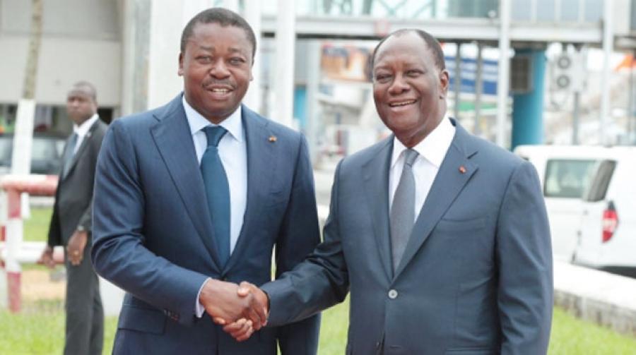 Faure Gnassingbé en visite d'amitié et de travail en Côte d'Ivoire