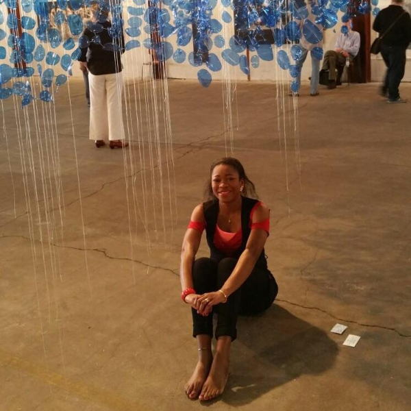 Chia Raïssa Gildemeister (artiste ) « Les artistes africains ne doivent surtout pas renier leurs origines.