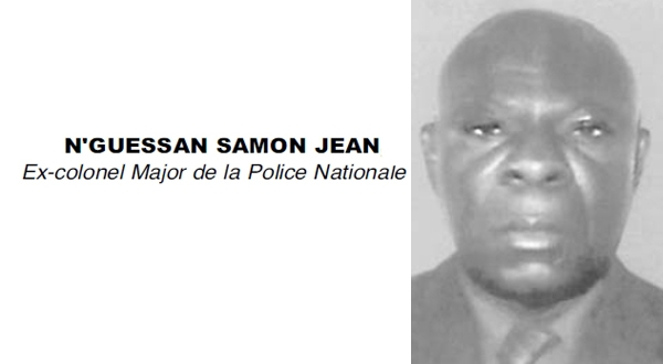 Nécrologie: N'GUESSAN SAMON JEAN, Ex-colonel Major de la Police Nationale et magistrat à la retraite