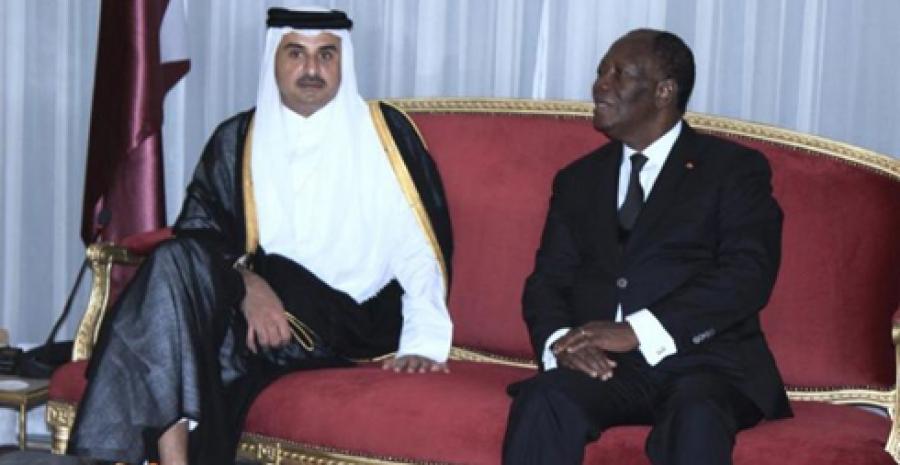 Arrivée à Abidjan de l'Emir du Qatar pour une visite officielle