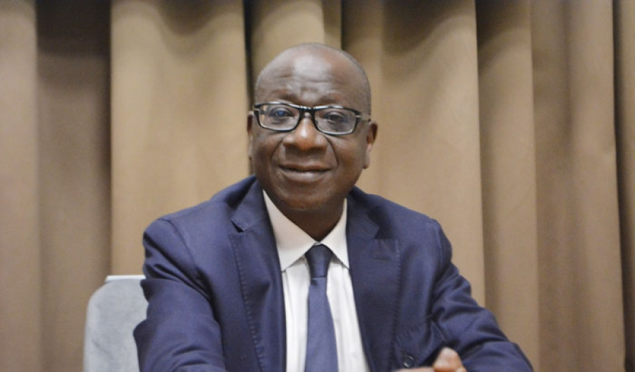 Le directeur gu00e9nu00e9ral des impu00f4ts, Ouattara Siu00e9 Abou.