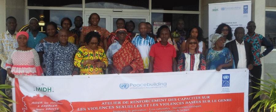 Les participants au su00e9minaire organisu00e9 par le Midh ont saluu00e9 cette initiative.