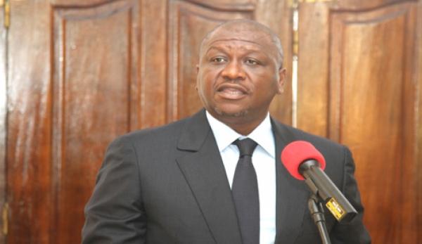 Le ministre Hamed Bakayoko