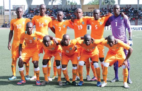 Les poulains de Kamara Ibrahim du00e9butent la compu00e9tition contre le Congo Brazzaville.