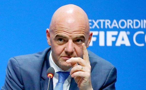 FIFA: Gianni Infantino annonce sa candidature pour 2019