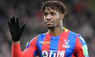Football : Wilfried Zaha à Crystal Palace jusqu'en 2023