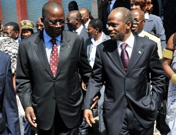 Ahoussou Jeannot 'gouvernement) et Danho Dju00e9dju00e9 (Fpi)