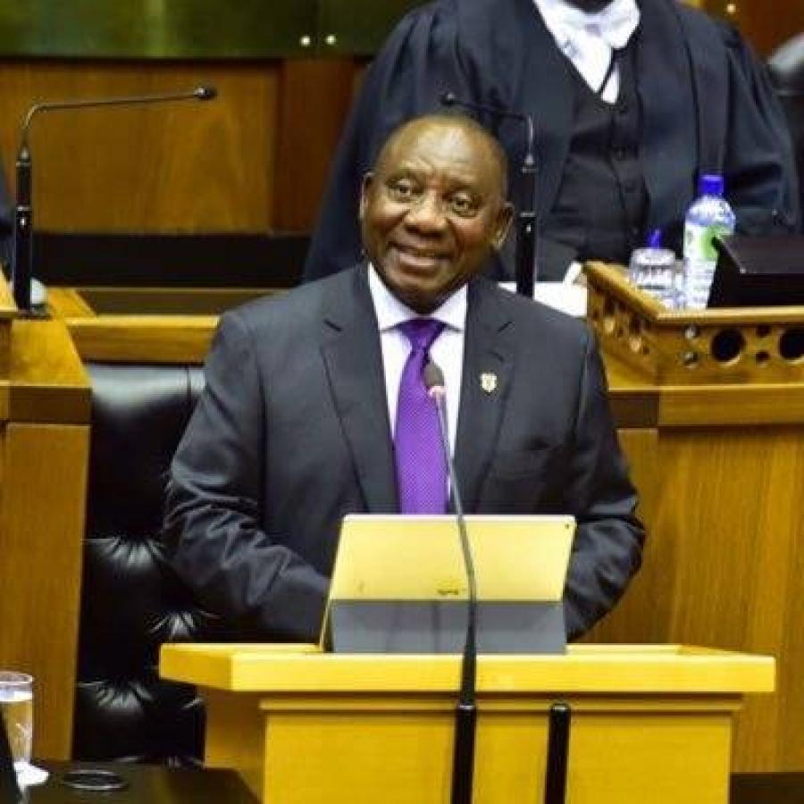 Cyril Ramaphosa forme un nouveau gouvernement — Afrique du Sud