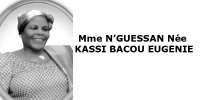 Mme N'GUESSAN Née KASSI BACOU EUGENIE