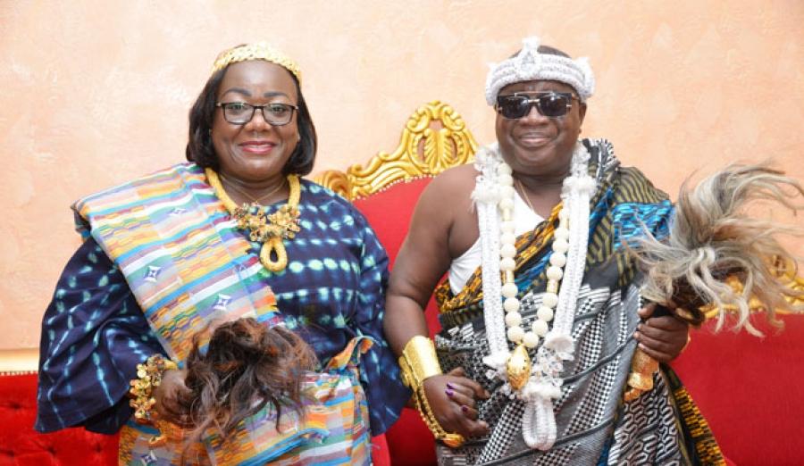 Nanan Kouakou Yao et la tribu Gbomi seront bien pru00e9sents aux festivitu00e9s de u2018u2018Pu00e2quinou dans le Cavallyu2019u2019, organisu00e9es par Anne Ouloto.