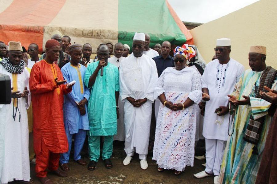 Les musulmans de Guiglo ont priu00e9 pour la paix en cu00f4te d'Ivoire.