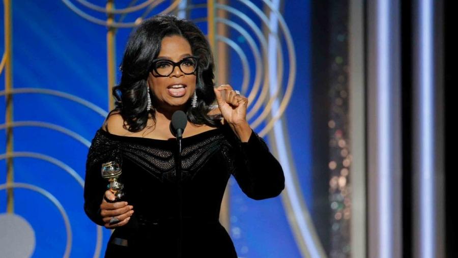 Oprah Winfrey présidente — Golden Globes