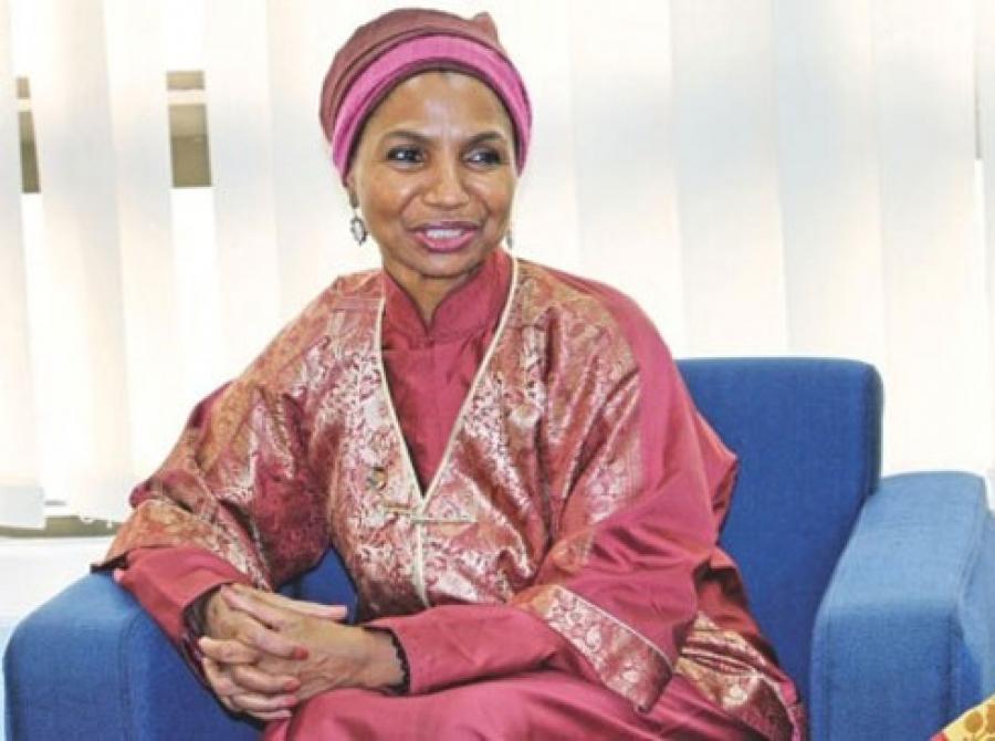 DR. Mme Argentina Matavel Piccin,la repru00e9sentante de UNFPA en Cu00f4te d'Ivoire