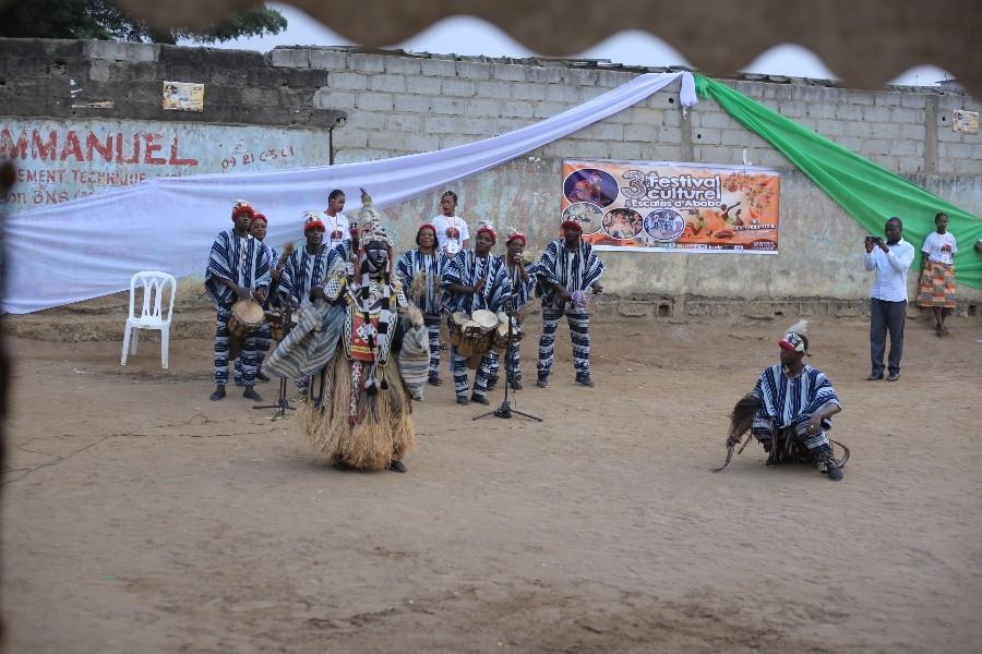 La danse wansu00e9gno du peuple yacouba a polarisu00e9 lu2019attention des festivaliers