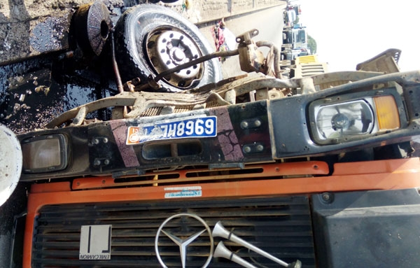 Accident de la circulation: Un camion fauche mortellement une femme à Moossou