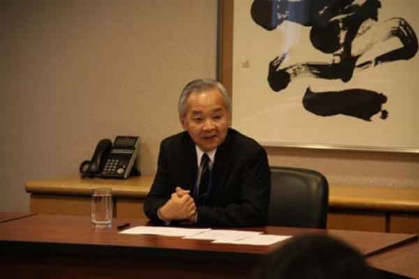 """Yoshifumi Okamura : """"Il faut préparer le terrain du développement qui est la paix et la sécurité"""""""