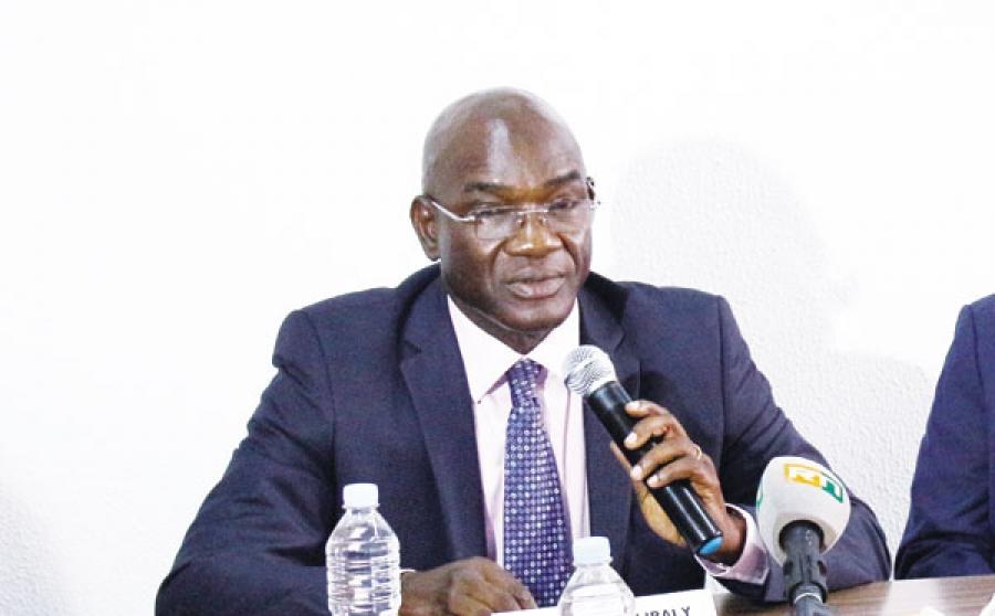 Dr Adama Coulibaly, directeur gu00e9nu00e9ral du Conseil du coton et de lu2019anacarde.