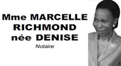Nécrologie: Mme MARCELLE RICHMOND née DENISE