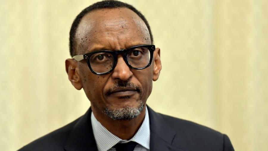 Le pru00e9sident rwandais Paul Kagame.