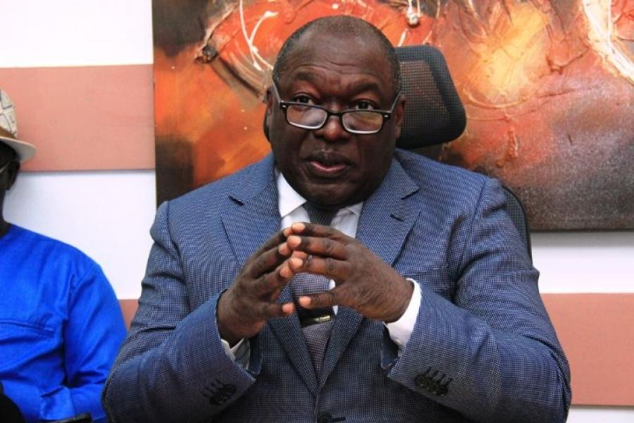 Dr Joseph Boguifo, pru00e9sident de la Fu00e9du00e9ration ivoirienne des petites et moyennes entreprises (Fipme).