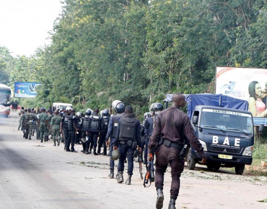 Affrontement entre militaires et éléments du CCDO à Bouaké