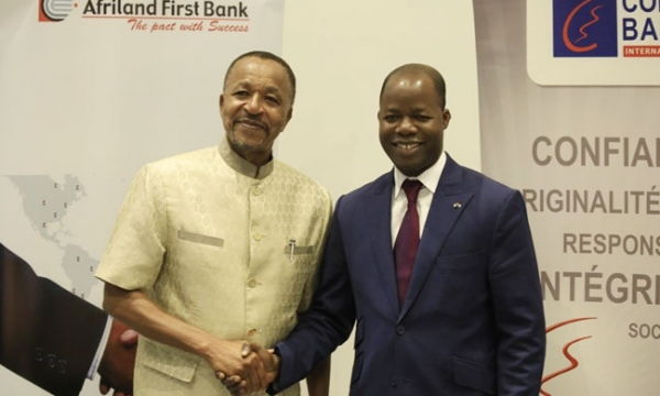 Signature de convention: Afriland first bank et Coris bank scellent un partenariat stratégique