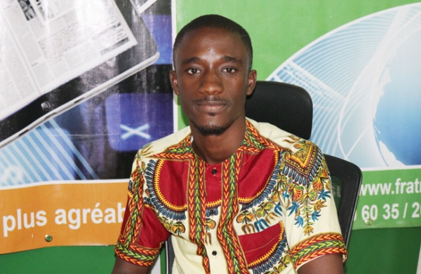 N'Guessan Abraham, le chargé de communication du Festival international de la mode d'Abidjan (Fimda).