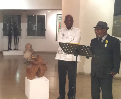 Peinture & sculpture : Joseph Anoma, un artiste de grand talent, expose à la Rotonde des arts
