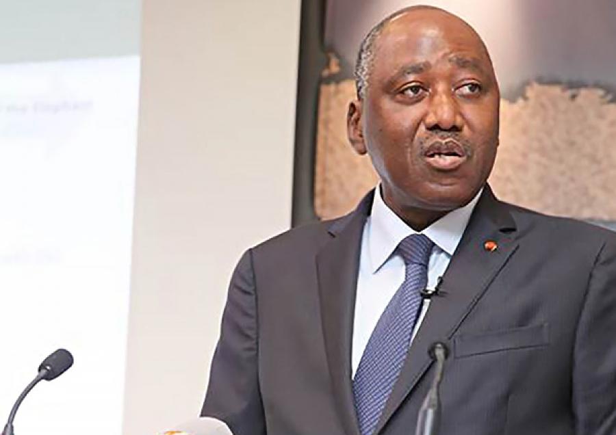 Le Premier Ministre Amadou Gon Coulibaly face à la presse ce mercredi