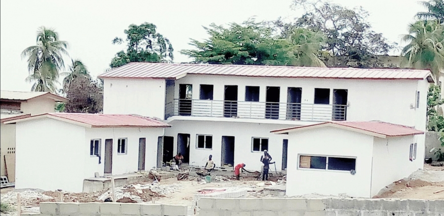 Les travaux de construction de la caserne de sapeurs-pompiers militaires sont en cours