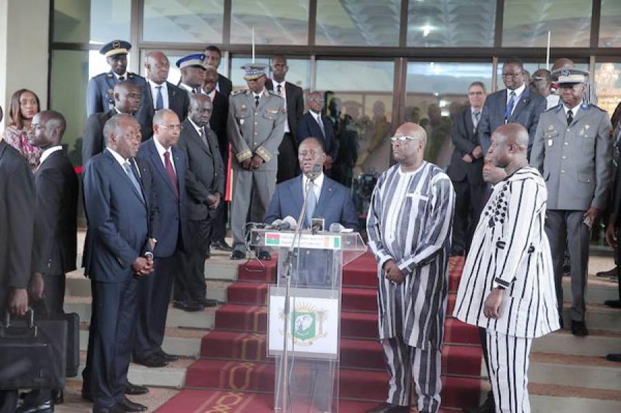 Le président ivoirien Alassane Ouattara attendu lundi soir à Ouagadougou