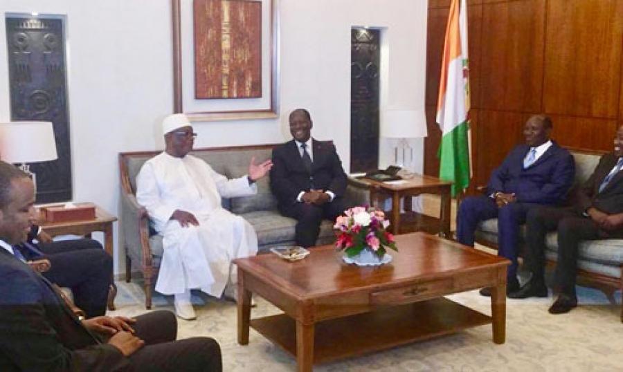 Côte d'Ivoire - IBK à Ouattara :