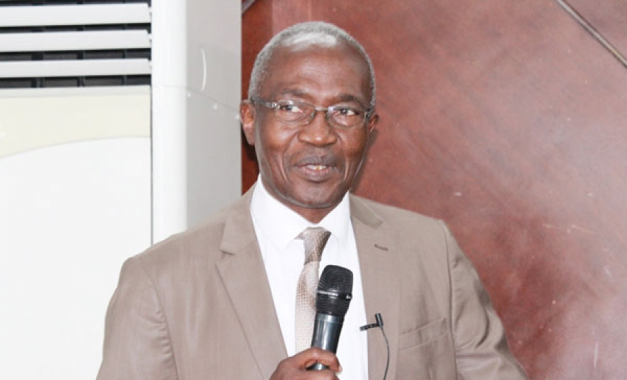 Raoul Konu00e9, directeur de cabinet adjoint du ministre de lu2019Education nationale, de lu2019Enseignement Technique et de la Formation professionnelle, a ouvert les travaux.