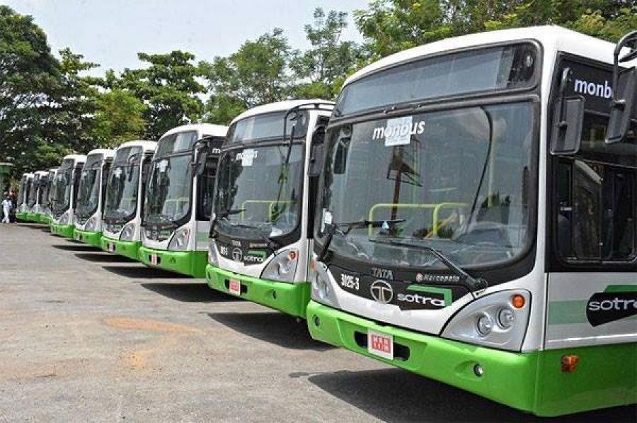 Lu2019arrivu00e9e de ces bus u00e0 gaz va ru00e9volutionner le secteur du transport public en Cu00f4te du2019Ivoire.