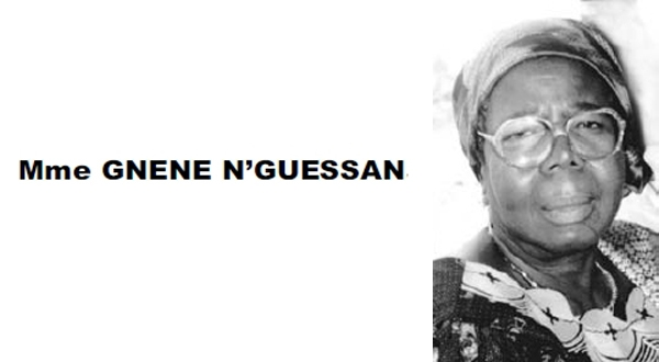 Nécrologie: Mme GNENE N'GUESSAN