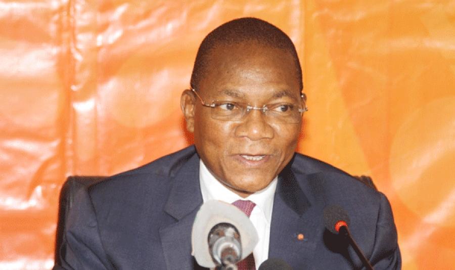 Bruno Nabagnu00e9 Konu00e9, ministre de la Construction, du Logement et de l'Urbanisme.