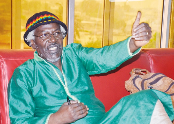 Alpha Blondy, la star mondiale du reggae.
