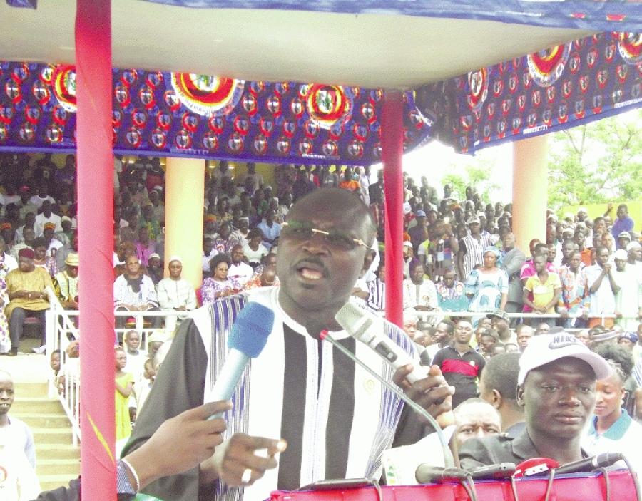 Eddie Kombou00efgo, pru00e9sident du CDP